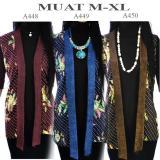 Dua Melati Tunik Vest Cardigan Batik Atasan Bolero La450 Original