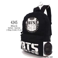 Dubai Bag Tas Ransel Distro K-POP Unisex Bahan Kanvas