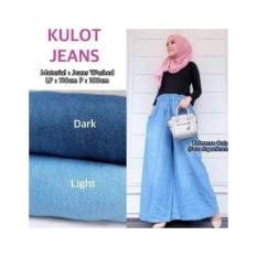 Beli Barang Duifa Kulot Jeans Wanita Jumbo Online