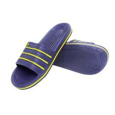 DULUX Sandal Slop RE-165 Sendal Slip On Pria Kokop Rumah Santai Uk 38 Biru Tua