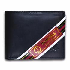 Promo Dunhill Dompet Pria Bahan Kulit 176 Hitam Pull Up