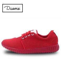 Harga Duomo Women Sport Shoes Sneakers Red Quincylabel
