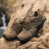 Jual Climbed Mt Tahan Lama Pria Sepatu Super Climbing Sepatu Trekking Sepatu Olahraga Luar Ruangan For Hardly Breathe Coklat Murah Tiongkok