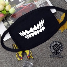 Harga Dust Masks Winter Personality *D*Lt Cotton Breathable Men And Women Cartoon Cute Warm Fashion Ride Windproof Intl