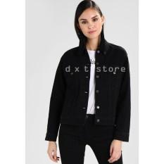 Ulasan Tentang Dxt Jaket Jeans Denim Hitam Fit Wanita Premium