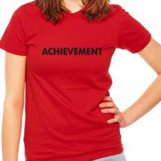 Dzye Kaos Achievement Merah Promo Beli 1 Gratis 1