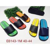 Jual E6143Warna Sandal Pria Luofu Sendal Slop Karet Import