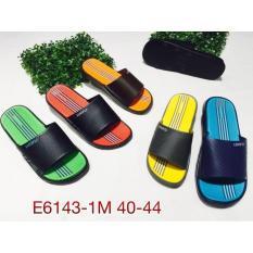Beli E6143Warna Sandal Pria Luofu Sendal Slop Karet Import Pake Kartu Kredit