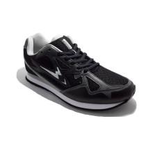 Eagle Aero Sepatu Lari Black Grey