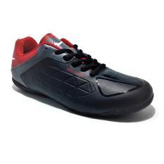 Eagle Spin Sepatu Futsal - Hitam Merah