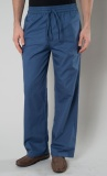 Beli East Essence Navy Men S Cotton Pants Navy Nyicil