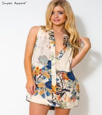 EBay AliExpress Printing Elegant Floral Longgar Ukuran Rok-Intl