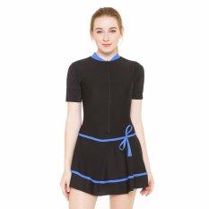 Review Pada Baju Renang Wanita Hdr 1106 Hitam