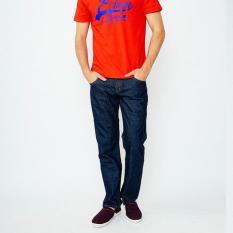 Edwin Celana Jeans Pria Panjang Biru Garment (506-Leo-01) - Pealah