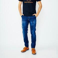 Edwin Celana Jeans Pria Panjang Biru Tua (603-85-05) - Qqstis