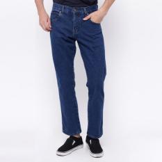 Edwin Celana Jeans Reguler Fit Pria Panjang Blue Vegas 03 - Wt53cj