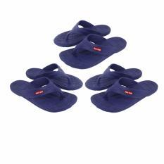 Toko Eelic Sjk 301 Biru 3 Pasang Size 39 Sandal Jepit Karet Anti Slip Nyaman Termurah Jawa Timur