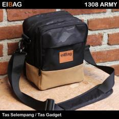 Eibag Tas Selempang Gadget 1308 Army Terbaru