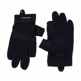 Spesifikasi Eiger Daily Riding Glove Combine Black Bagus