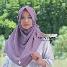 Montaza Eksklusif Hijab Instan Bergo Diamond Italiano Kerudung Jilbab Syari Kekinian