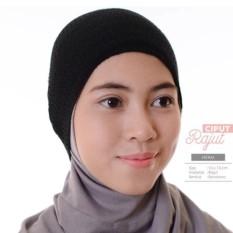 Baby Talk Club EL Ciput Hijab Bandana Rajut Satu Warna - Anti Tembem Ciput Kerudung Antem Anpus Inner Kerudung Kerpus Modern Ciput Inner Hijab Aksesoris Perlengkapan Berhijab