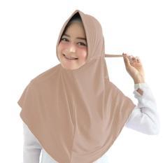 Baby Talk Club El Hijab Jilbab Instan Serut Jokowi Jersey - Kerudung Jilbab Instan Fashion Muslim Hijab Jilbab Instan Syari Khimar Polos Pashmina Polos Hijab Modern Hijab Kekinian Hijab Daily Adibah Tali Serut Jersey