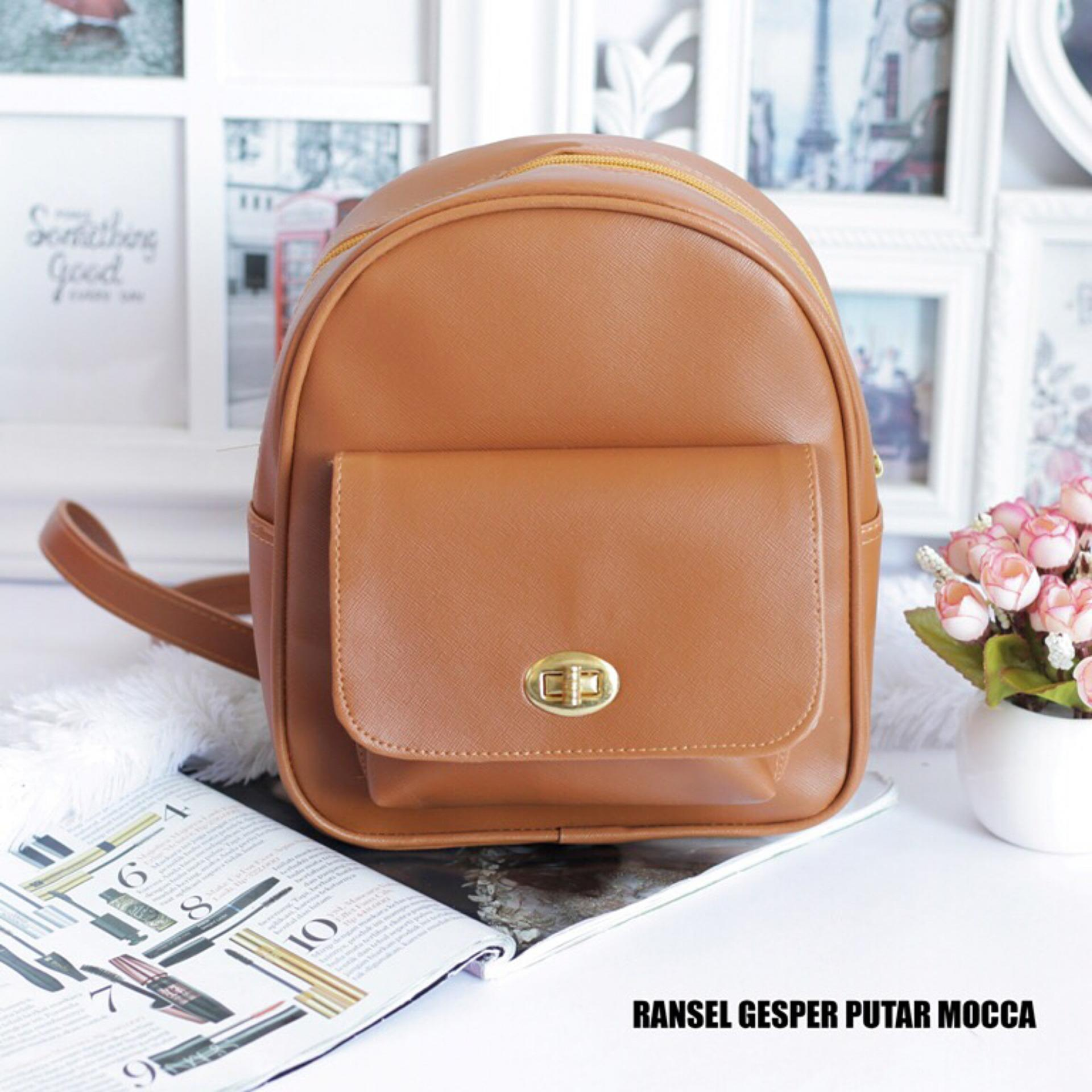 Bag Tas Slempang. Source · EL PIAZA Mini Ransel Kulit Imitasi Gesper .