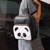 Beli El Piaza Mini Ransel Kulit Panda Black Ransel Mini Ransel Lucu Tas Ransel Sling Bag Tas Slempang Tas Sekolah Anak Tas Berpergian Tas Travelling Tas Kuliah Tas Bahu Modis Wanita Kekinian Panda Black Terbaru