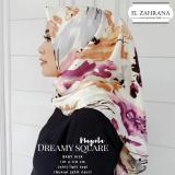 Spesifikasi El Zahrana Hijab Square Kerudung Segi Empat Jilbab Motif Premium Baby Silk El Zahrana Terbaru