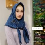 Beli El Zahrana Hijab Square Kerudung Segi Empat Jilbab Segi Empat Motif Premium Monalisa Cicil