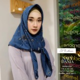 Harga El Zahrana Hijab Square Kerudung Segi Empat Jilbab Segi Empat Motif Premium Monalisa Satu Set
