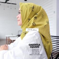 El Zahrana Hijab - Kerudung Segi Empat - Jilbab Motif Premium Monalisa