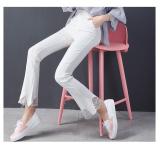 Beli Celana Cutbray Jahitan Renda Bottoming Celana Musim Gugur Dan Musim Dingin Baru Putih Baju Wanita Celana Wanita Murah Tiongkok