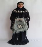 Spesifikasi Eldiyas Prayer Set Mukena Ayu Exclusive Hitam Yang Bagus