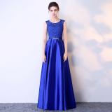 Toko Elegan Perempuan Baru Perjamuan Pesta Baju Pelayanan Gaun Malam Biru Navy Baju Wanita Dress Wanita Gaun Wanita Lengkap Di Tiongkok