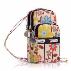 Harga Paket Ponsel Mini Yang Elegan Tas Telepon Tas Impor Nilon Dan Polyester Gelang Bunga Internasional Oem Asli
