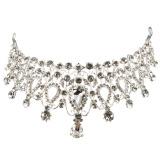 Harga Rambut Elegan Berlian Imitasi Kristal Tiara Mahkota Perhiasan Pengantin Pernikahan Kontes Prom Intl Yang Murah