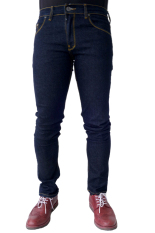 Jual Elfs Shop Celana Panjang Jeans Garment Pocket 004 Biru Dongker Murah