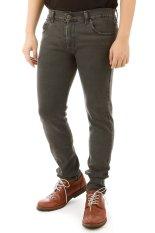 Jual Elfs Shop Celana Panjang Soft Jeans Pocket 037 Abu Abu Tua Elfs Shop Online