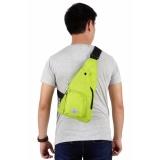 Harga Elfs Shop Tas Ransel Selempang Backpack Sling 70 Logo Polyester Hijau Stabilo Lengkap