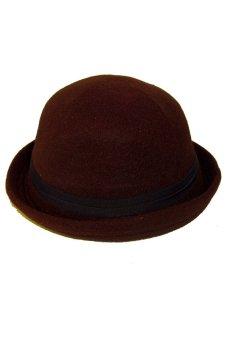 Pencarian Termurah Elfs Shop - Topi Fedora Caplin Bludru-Coklat Tua harga  penawaran - Hanya Rp28.770 5d77f786fa