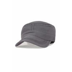 Elfs Shop - Topi Pria Polos Komando Military Canvas Cap