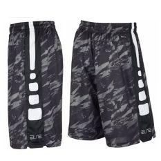 Toko Elit Kebugaran Pelatihan Berjalan Yard Besar Celana Pendek Basket Celana Pendek Celana Pendek Elit Abu Abu Gelap Kamuflase Online