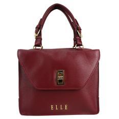 Elle 40789-20 Handbag - Tas Wanita - Burgundy