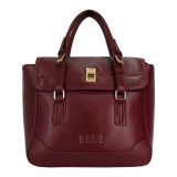 Jual Elle 40790 20 Handbag Tas Wanita Burgundy Branded Murah