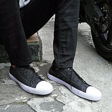 Ellen Grosir Sneakers Casual CV.01 - Hitam
