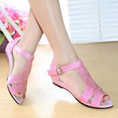 Harga Ellen Taslim Dk 14 Sandal Wedges Terbaru Fullset Murah