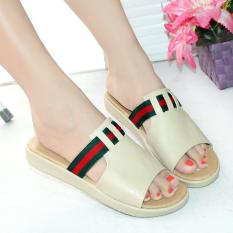 Ellen Taslim Dk 24 Sandal Semi Wedges Meisya Jawa Barat Diskon 50