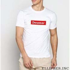 INC Tumblr Tee / T-Shirt / Kaos Pria Dreamer - Putih