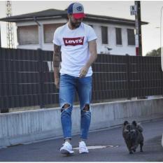 ELLIPSES.INC Tumblr Tee / T-Shirt / Kaos Pria Lev - Putih